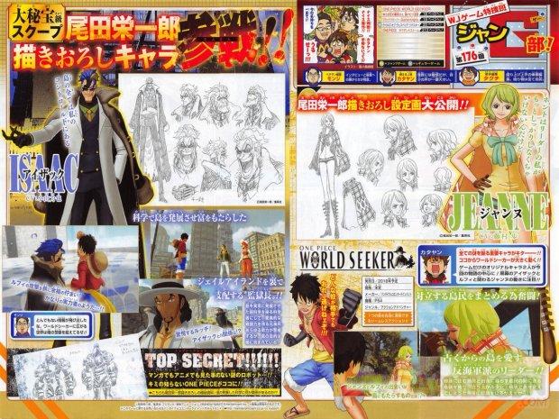 One Piece World Seeker scan 13 09 2018