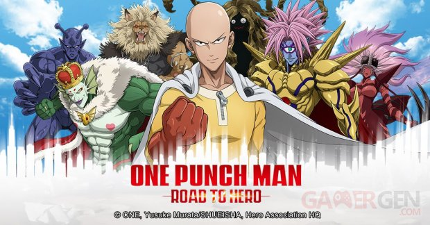 One Punch Man – Road to Hero Artwork (3)
