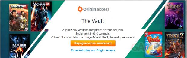 Origin Access mai juin