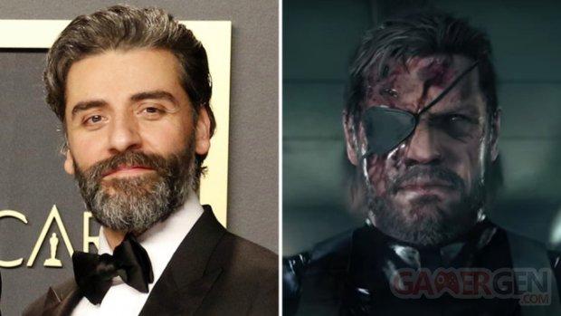 Oscar Isaac Solid Snake Deadline