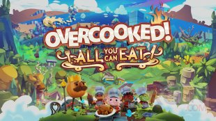 Overcooked All You Can Eat key art