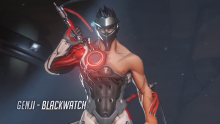 Overwatch Insurrection Hot Genji