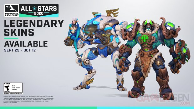 Overwatch League  all star skins.