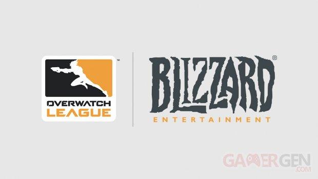 Overwatch League Blizzard Logo