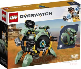Overwatch LEGO Bouldozer Chacal Chopper (11)