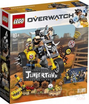 Overwatch LEGO Bouldozer Chacal Chopper (6)