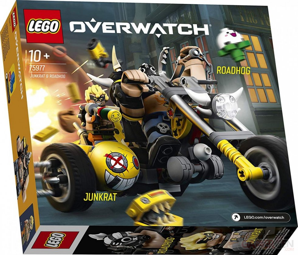 Overwatch LEGO Bouldozer Chacal Chopper (8)