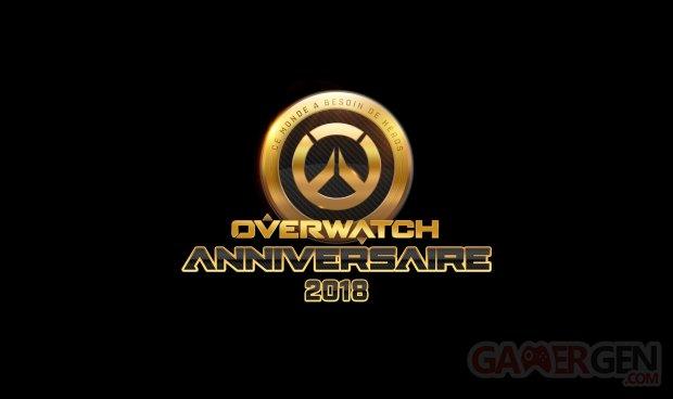Overwatch logo anniversaire 15 05 2018