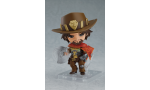 overwatch mccree sort plus beau sourire figurine nendoroid
