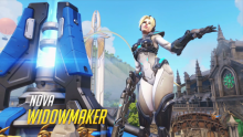 Overwatch Nova Widowmaker
