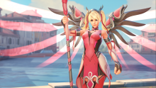 Overwatch Rose Ange Skin