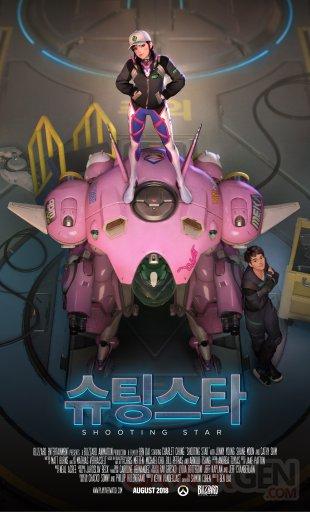 Overwatch ShootingStar Poster