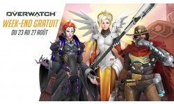overwatch week end gratuit aout 2018