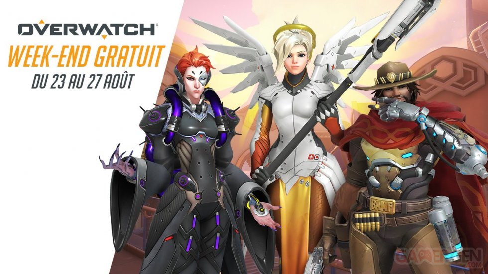 overwatch week-end gratuit aout 2018
