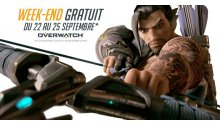 Overwatch week-end gratuit septembre 2017