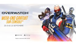 Overwatch week end gratuit