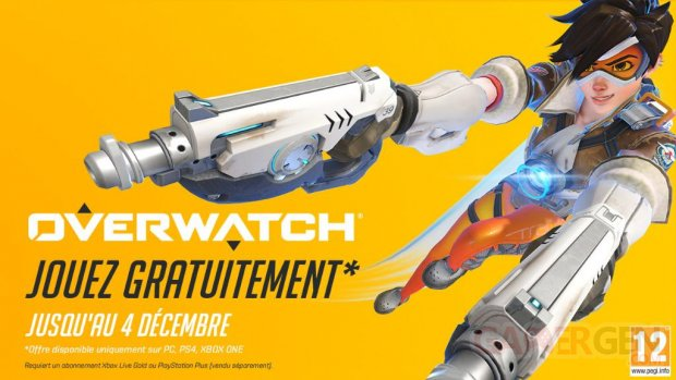 Overwatch weekend gratuit