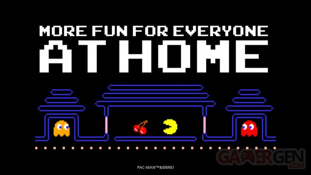 Pac Man at Home