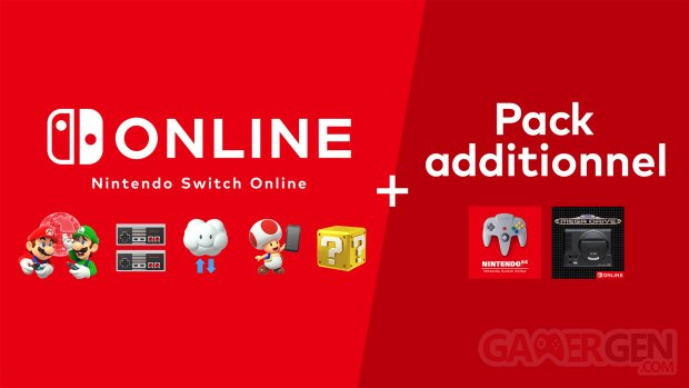 Pack additionnel Nintendo Switch Online