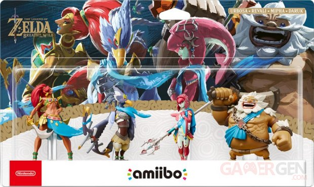 pack amiibo the legend of zelda breath of the wild image