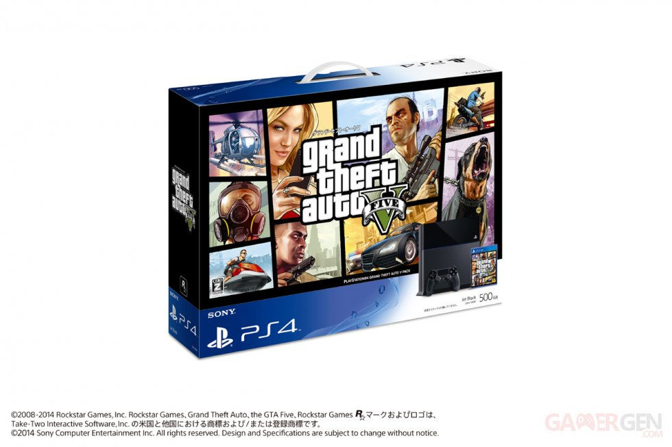 Pack PS4 GTA V Japon