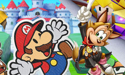 Paper Mario The Origami King Famitsu image (2)