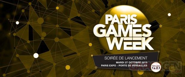 Paris Games Week Soiree lancement 2015.