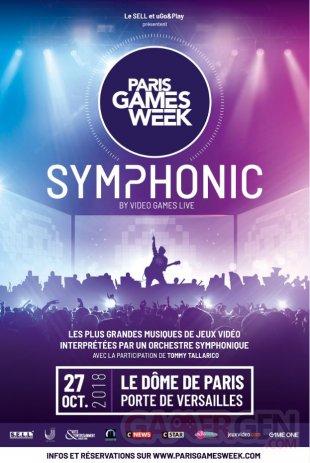 Paris Games Week Symphonic 2018 affiche 16 10 2018