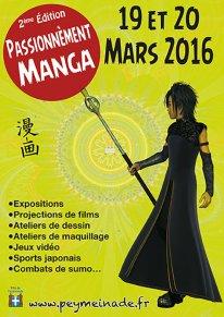 Passionnément manga 2016 affiche recto