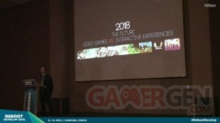Patrice Désilets reboot conférence 2015 2