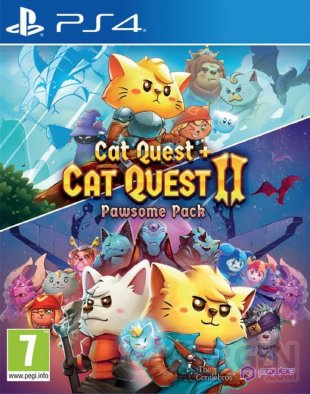 Pawsome Pack Cat Quest PS4