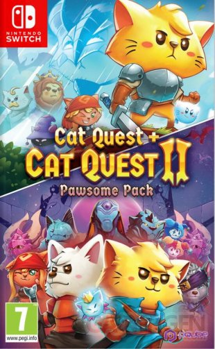 Pawsome Pack Cat Quest Switch