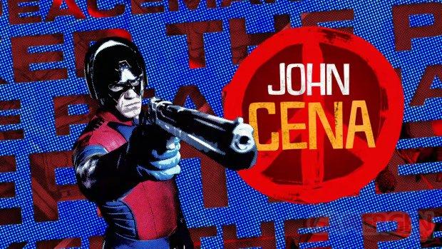 Peacemaker John Cena head
