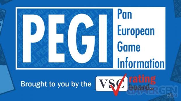 PEGI Ratings Application mobile