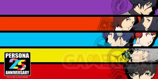 Persona 25th Anniversary series 25 ans 20 09 2021 fond écran wallpaper 1