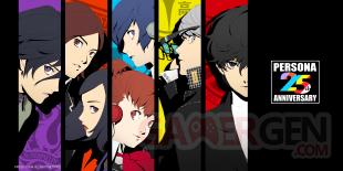 Persona 25th Anniversary series 25 ans 20 09 2021 fond écran wallpaper 2