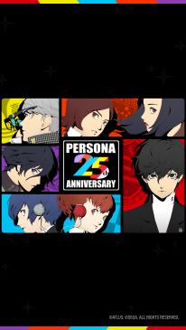 Persona 25th Anniversary series 25 ans 20 09 2021 fond écran wallpaper 8