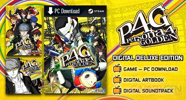 Persona 4 Golden PC Digital Deluxe Edition