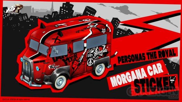 Persona 5 Royal Morgana Car 05 07 2019