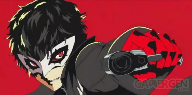 Persona 5 the Animation head