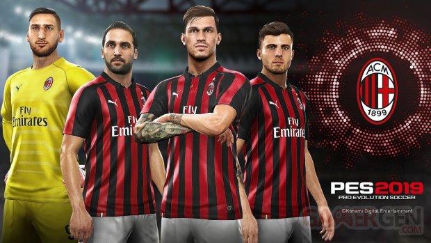 PES 2019 AC Milan