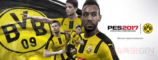 PES2017 BVB Announcement Visual