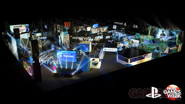 PGW 2015 stand PlayStation