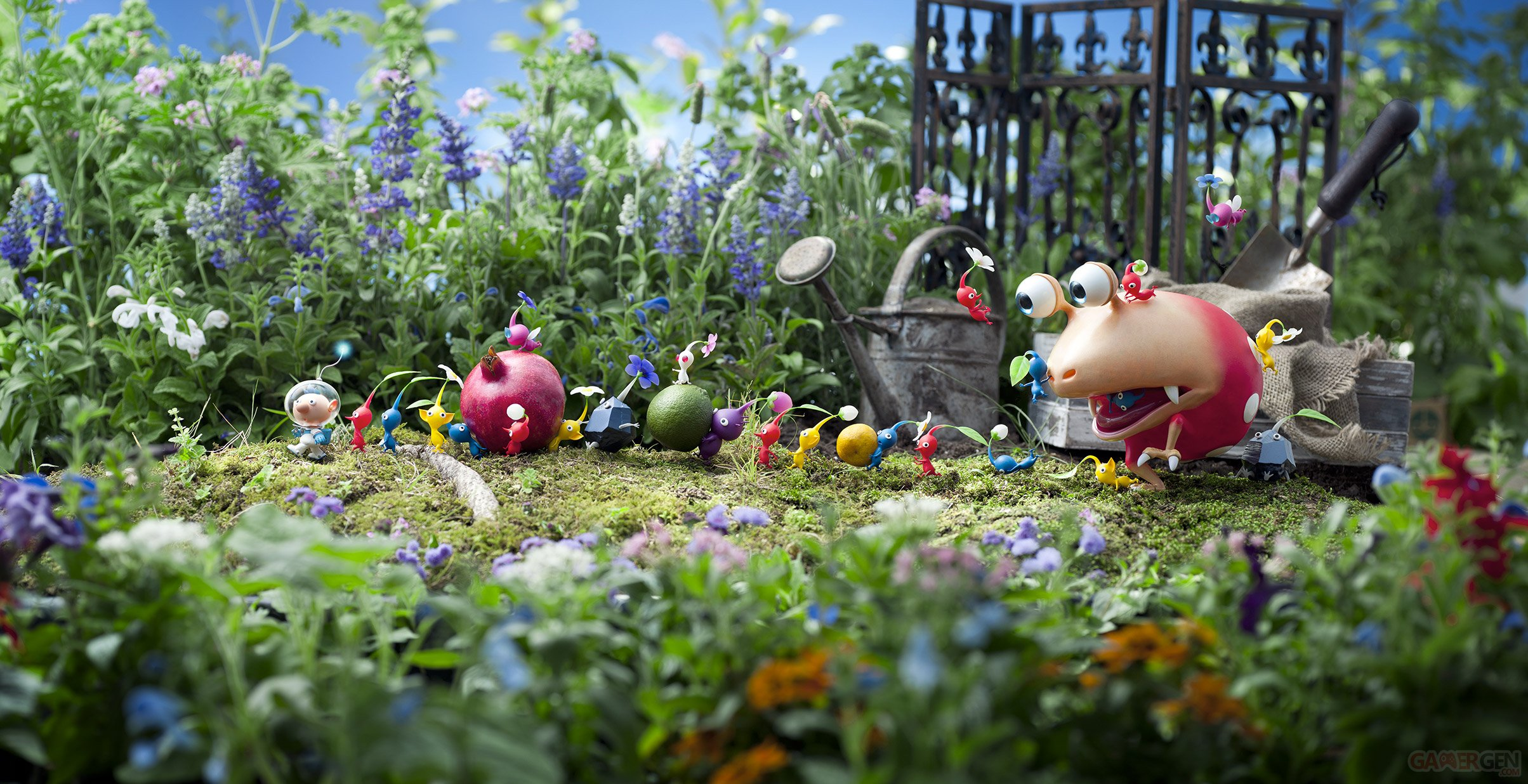 Switch: Pikmin 3 Deluxe atterrira sur