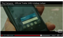 placement nokia film lindsay lohan