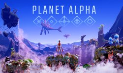 Planet Alpha Key Art