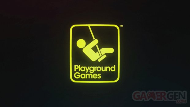 Playground Games Logo Forza Horizon Intro