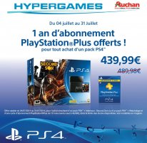 PlayStation 4 offre Auchan 2