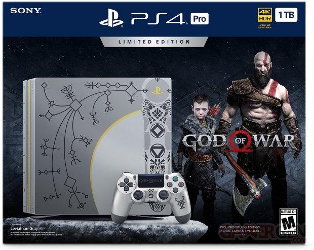 PlayStation 4 Pro 1TB Limited Edition Console   God of War Bundle
