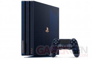 PlayStation 4 PS4 Pro 500 Million Limited Edition collector 03 09 08 2018